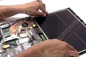 آموزش تعویض ال سی دی لپ تاپ لنوو