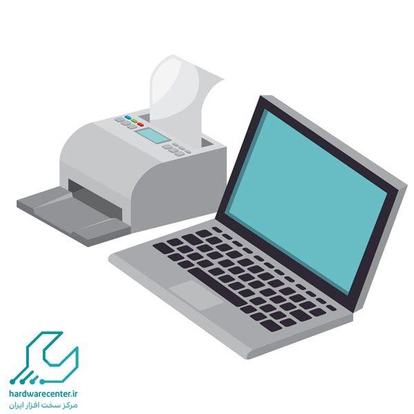 وصل کردن لپ تاپ به پرینتر بی سیم