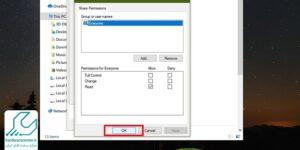 ساخت map drive در ویندوز 10