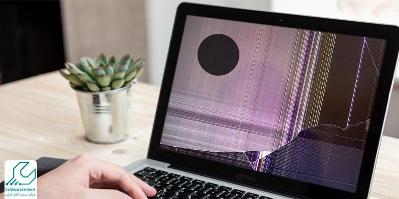 لکه سیاه روی صفحه لپ تاپ