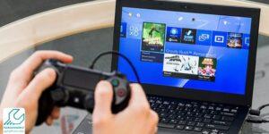 اتصال PS4 به لپ تاپ لنوو