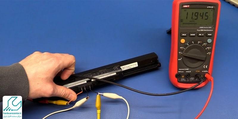 تست باتری لپ تاپ لنوو